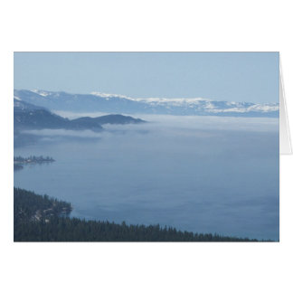 Lake Tahoe Note Card