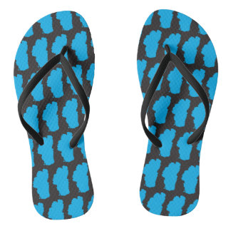 Lake Tahoe Patterned Thongs