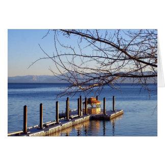 Lake Tahoe Pier Cards