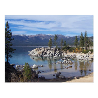 Lake Tahoe Post Card