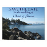 Lake Tahoe Save-the-Date 11 Cm X 14 Cm Invitation Card