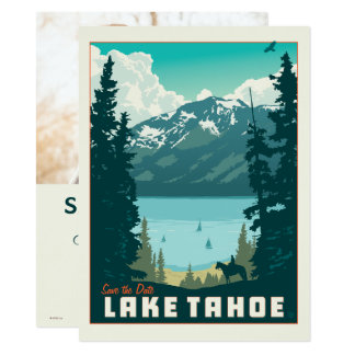Lake Tahoe | Save the Date - Photo Card
