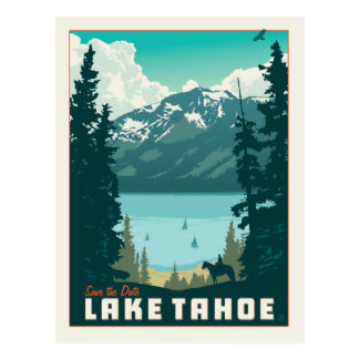 Lake Tahoe | Save the Date Postcard