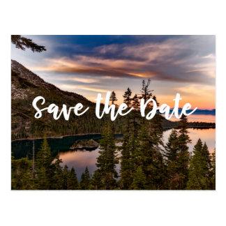 Lake Tahoe - Save the Date Postcard