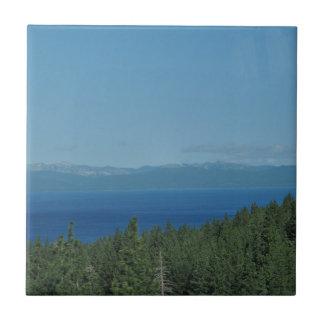 Lake Tahoe Small Square Tile