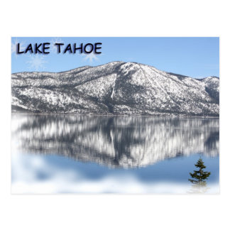 Lake Tahoe Snowflake 1 Postcard