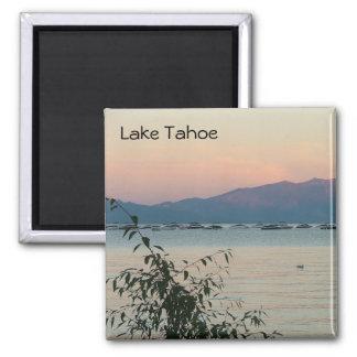 Lake Tahoe Square Magnet