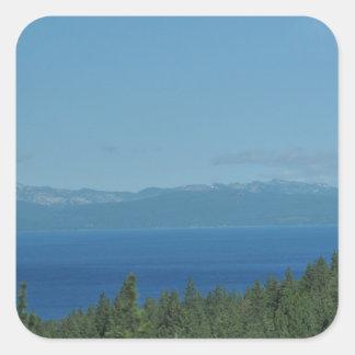 Lake Tahoe Square Sticker