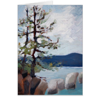 Lake Tahoe study Card