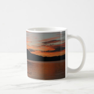 Lake Tahoe Sunset 2007 Basic White Mug