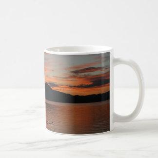 Lake Tahoe Sunset 2007 Basic White Mug