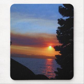 Lake Tahoe Sunset Mouse Pad