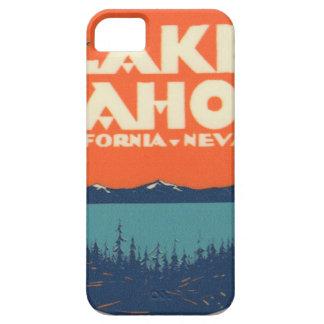 Lake Tahoe Vintage Travel Decal Design iPhone 5 Case