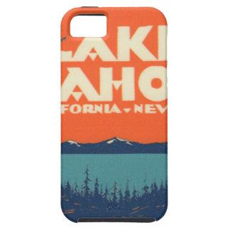 Lake Tahoe Vintage Travel Decal Design iPhone 5 Cases