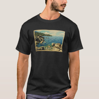 Lake Tahoe Vintage Travel T-shirt