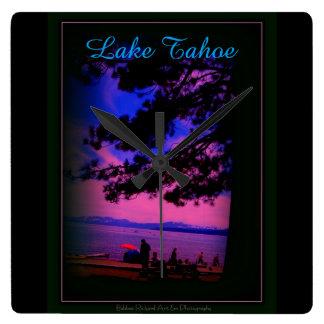 Lake Tahoe Wallclocks