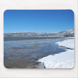 Lake Tahoe Winter Mousepad
