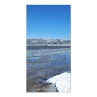 Lake Tahoe Winter Personalized Photo Card