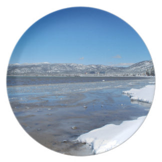 Lake Tahoe Winter Party Plate