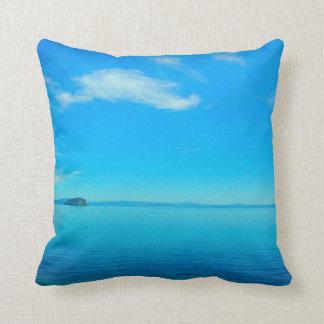 Lake Taupo, New Zealand pillow