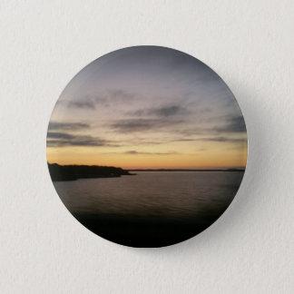Lake Texoma Sunset 6 Cm Round Badge