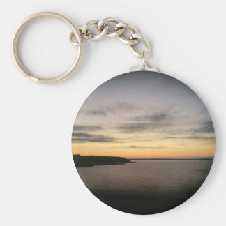 Lake Texoma Sunset Key Ring