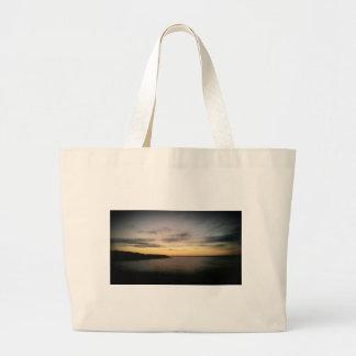 Lake Texoma Sunset Large Tote Bag