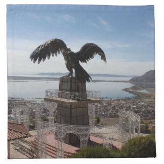 Lake Titicaca Puno Peru Printed Napkin