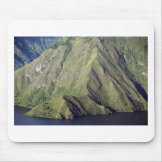 Lake Toba dramatic mountainous landscape Mousepad