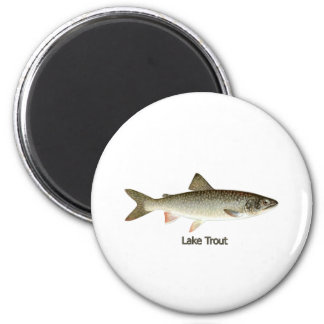 Lake Trout Artwork Magnet