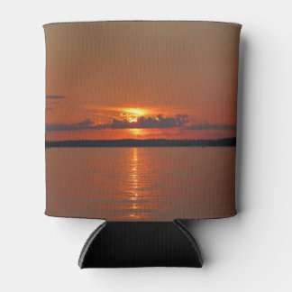 Lake Vermillion Brilliant Sunset Can Cooler