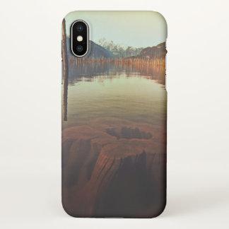 Lake View Custom iPhone X Matte Case