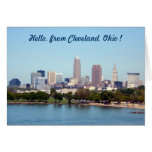 Lake View (Edgewater) Cleveland Ohio Greeting Card