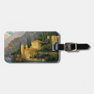Lake Villa Luggage Tag