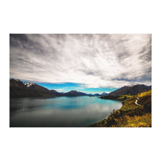 Lake Wakatipu from Bennetts Bluff Canvas Print