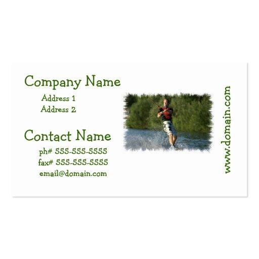 Lake Wakeboarding Business Card