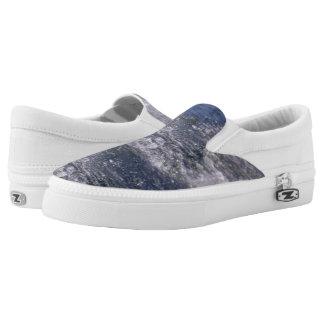 Lake Waves Printed Shoes