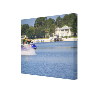 Lake Weir Canvas Print