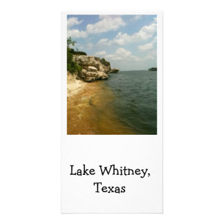 Lake Whitney, Texas  scenic Personalized Photo Card