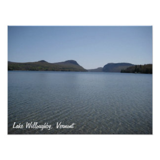 Lake Willoughby Poser 1 - Customized Poster
