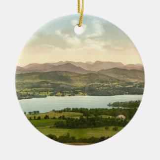 Lake Windermere I, Lake District, Cumbria, England Ceramic Ornament