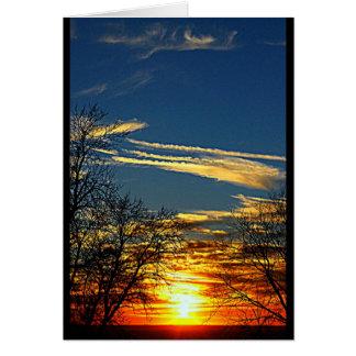 Lake Winnebago Sunset Any Occasion Greeting Card