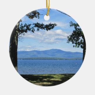 Lake Winnipesaukee Ceramic Ornament