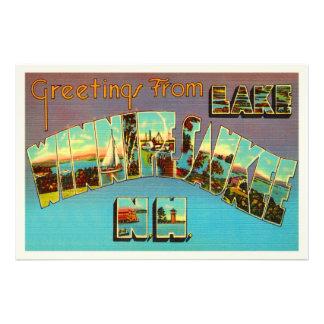 Lake Winnipesaukee New Hampshire Travel Souvenir Photo Print