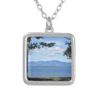 Lake Winnipesaukee Silver Plated Necklace