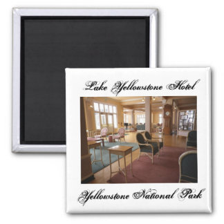Lake Yellowstone Hotel Magnet