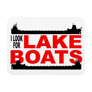 Lakeboats magnet -- classic