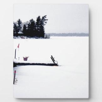 Lakefront View Plaque