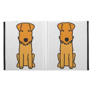 Lakeland Terrier Dog Cartoon iPad Folio Covers