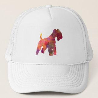 Lakeland Terrier in watercolor Trucker Hat